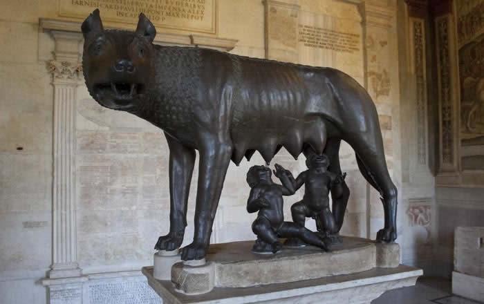 Roma Musei Capitolini Lupa