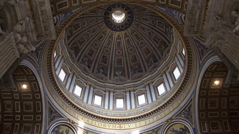 Roma Vaticano Basilica di San Pietro Cupola