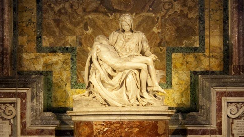 Roma Vaticano Basilica di San Pietro Pietà Michelangelo