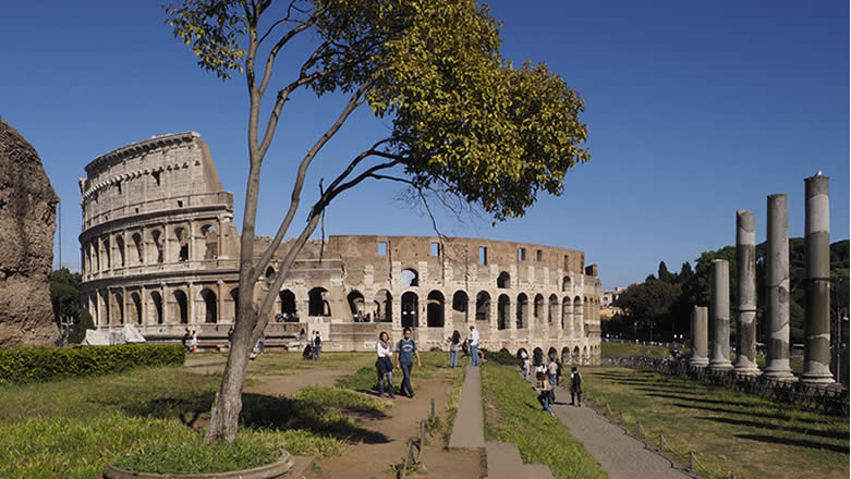 Roma Colosseo Foro Romano